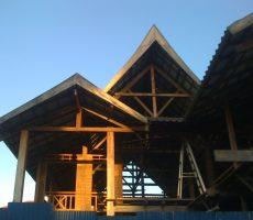 再テスト 「ラオスの木造建物」