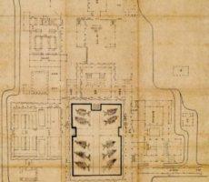 建長寺伽藍指図 江戸時代 享保17年(1732) 縦175.0cm×横83.5cm 建長寺蔵