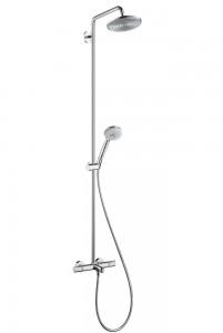 クロマ ハンスグローエ 「シャワーパイプ220 スパウト付」