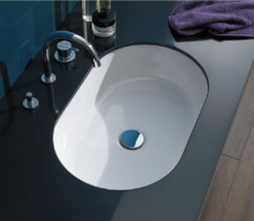 ARCHITECTURA Undercounter washbasin Oval