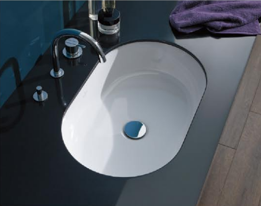 ARCHITECTURA Undercounter washbasin Oval